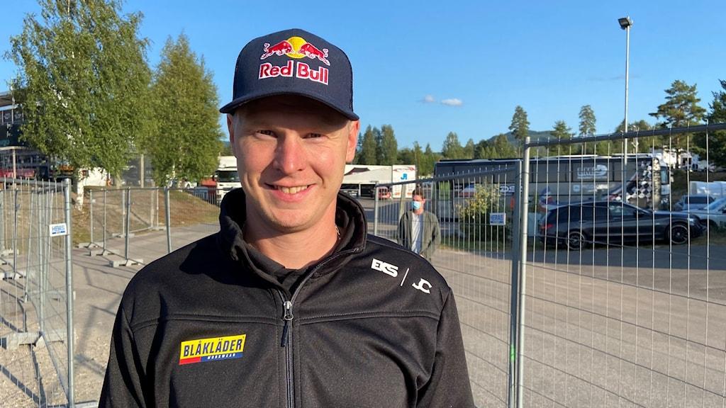 Johan Kristoffersson i delad ledning efter första dagens VM-tävlingar i Höljes