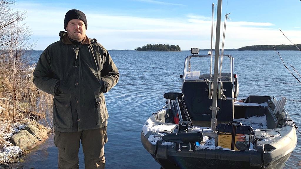 Martin Sandmark. Foto: Annika Ström/Sveriges Radio.
