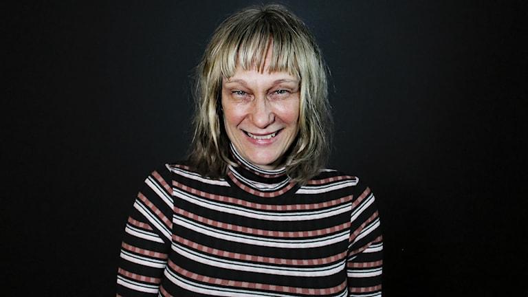 Mona Nylin. Foto: Lars-Gunnar Olsson/Sveriges Radio.