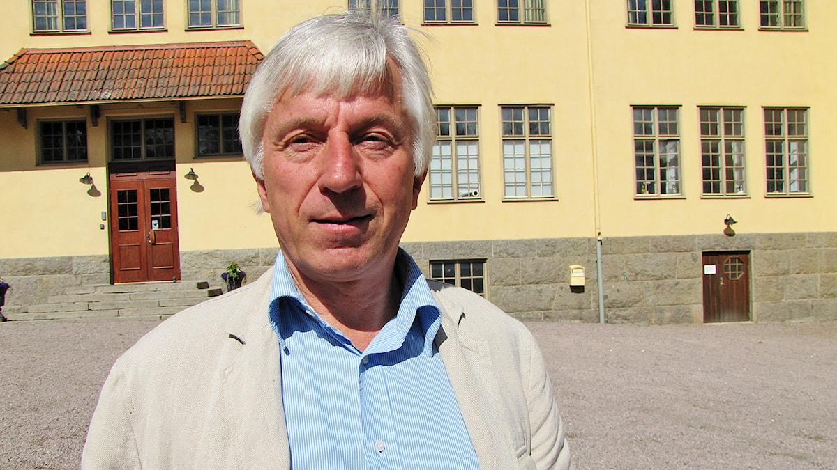 Johan von Scheele. Foto: Anna Tjäder/Sveriges Radio.