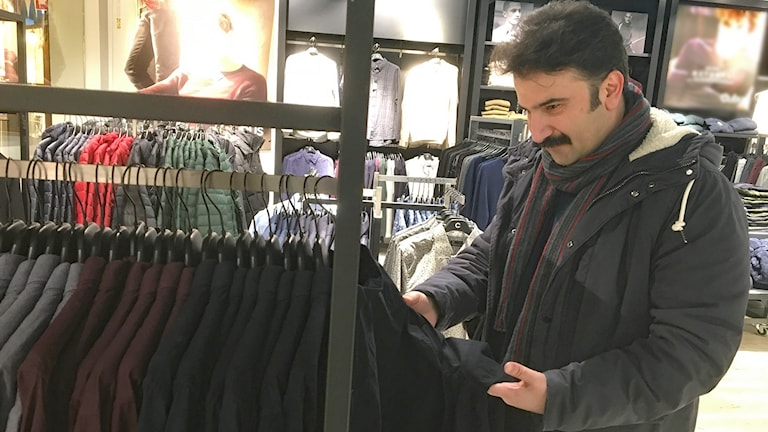 Hossein Erfani. Foto: Jonas Berglund/Sveriges Radio.