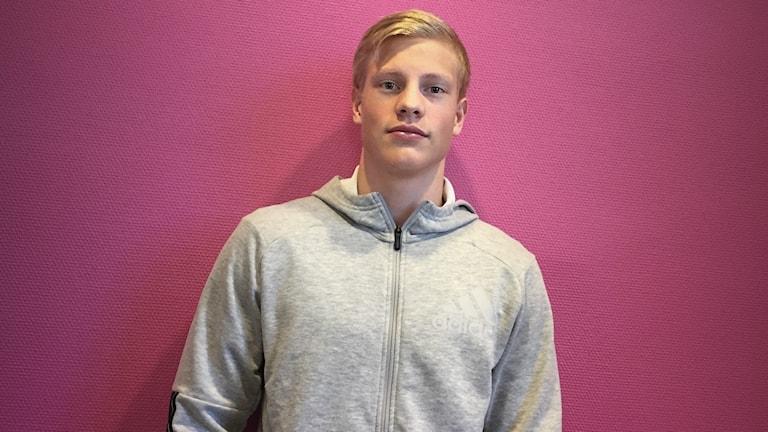 Henrik Larsson, IF Göta. Foto: Anna Lingsell/Sveriges Radio.