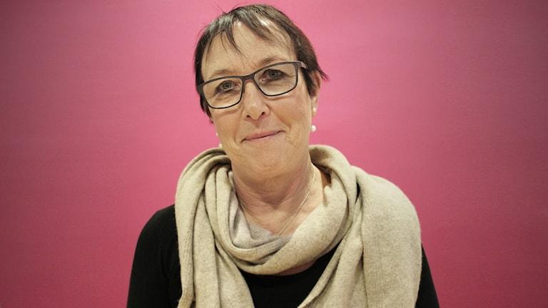 Ann-Katrin Järåsen (S). Foto: Lars-Gunnar Olsson/Sveriges Radio.
