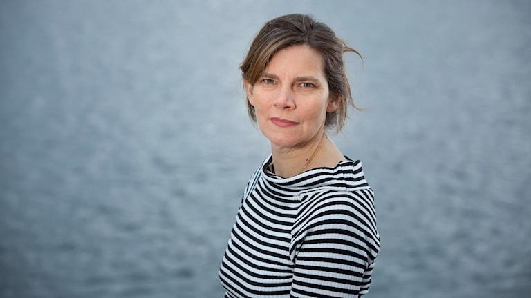 Ellen Bruno, sakkunnig inom vattenfrågor på Naturskyddsföreningen. Foto: Naturskyddsföreningen.