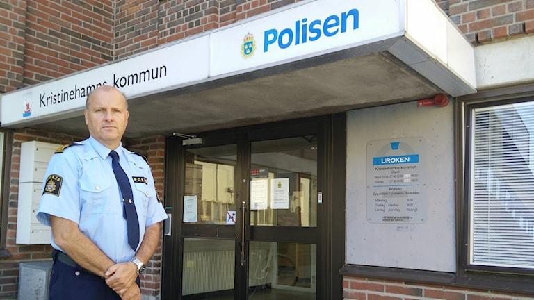 Lars Serenander, Lokalpolisområdeschef Kristinehamn