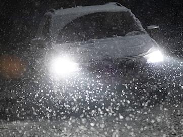 SMHI utfärdar klass 1-varning för snöfall i hela Värmland