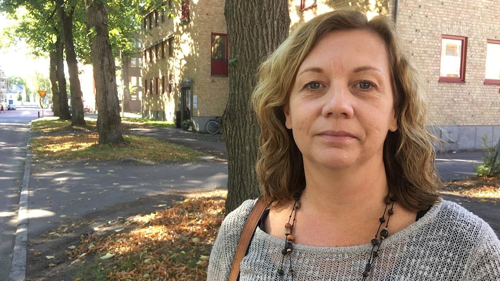Monica Sturegren, volontär för Världen i Värmland. Bild: Per Larsson.