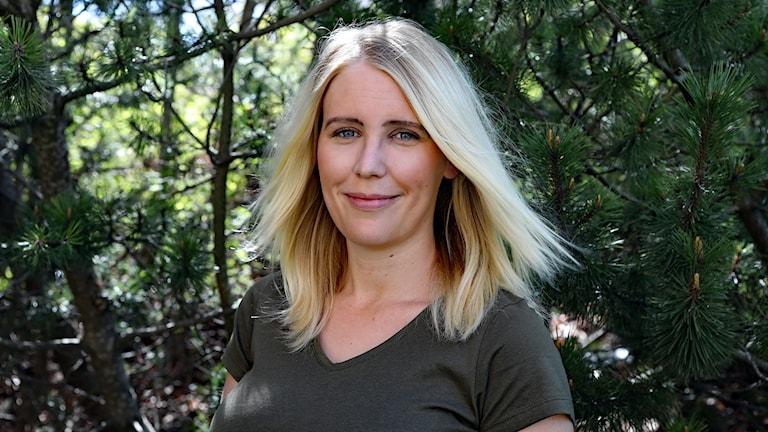 Felicia Ström, influencer på Instagram. Foto Örjan Bengtzing/Sveriges Radio.