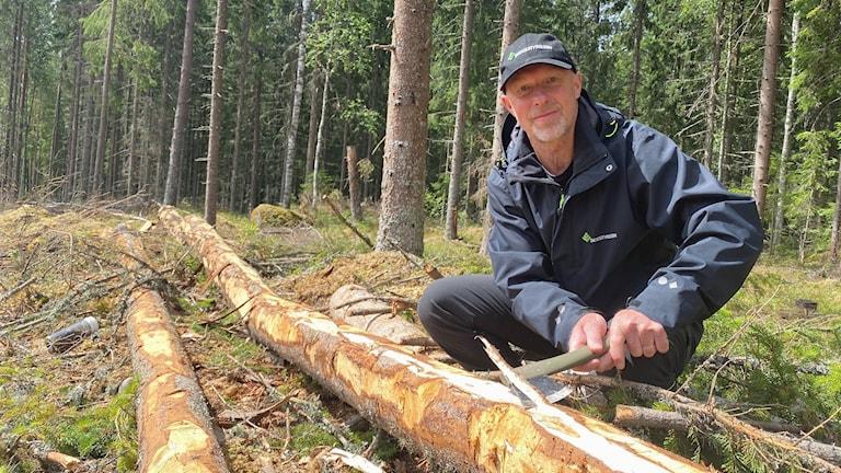 Hans Källsmyr. Foto: Jonas Berglund/Sveriges Radio.