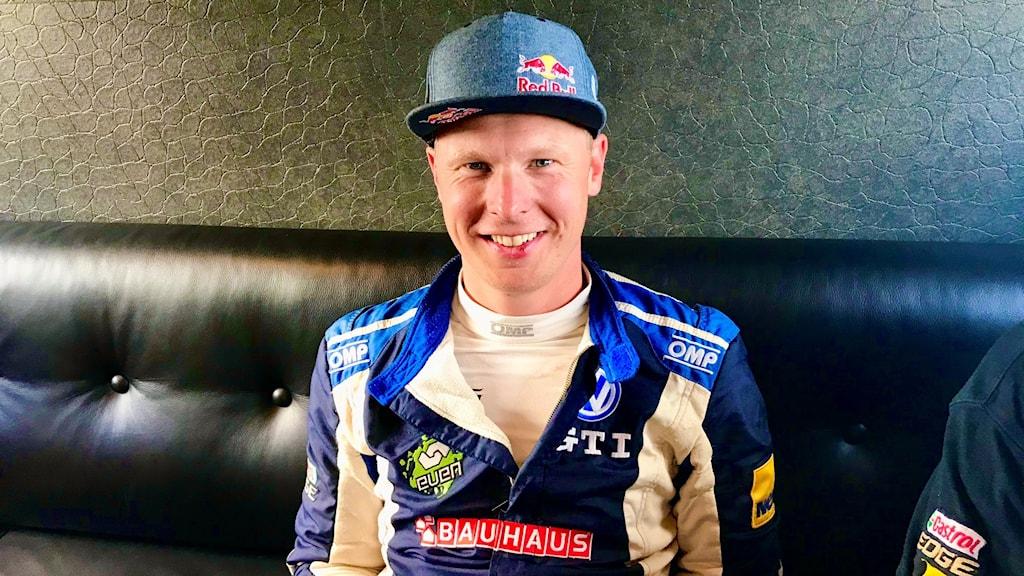 Johan Kristoffersson, rallycrossförare.