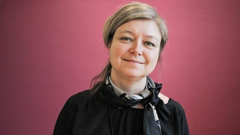 Annicka Carlsson. Foto: Lars-Gunnar Olsson/Sveriges Radio.