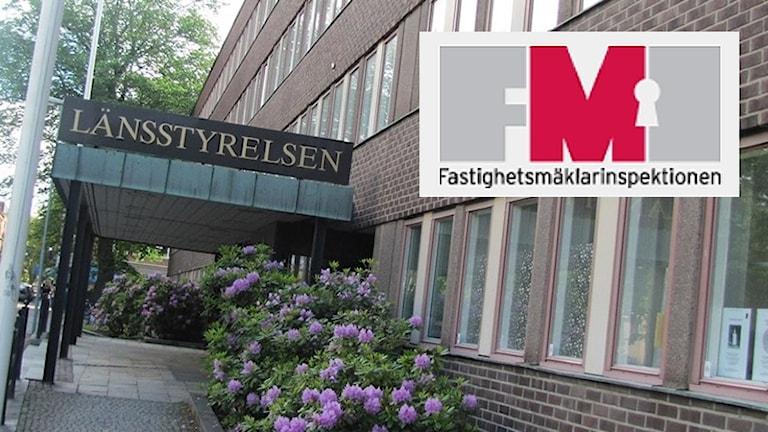 Fastigheten där FMI finns idag. Foto: Sveriges Radio.