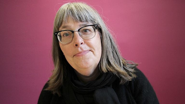 Karin Thyselius. Foto: Lars-Gunnar Olsson/Sveriges Radio.