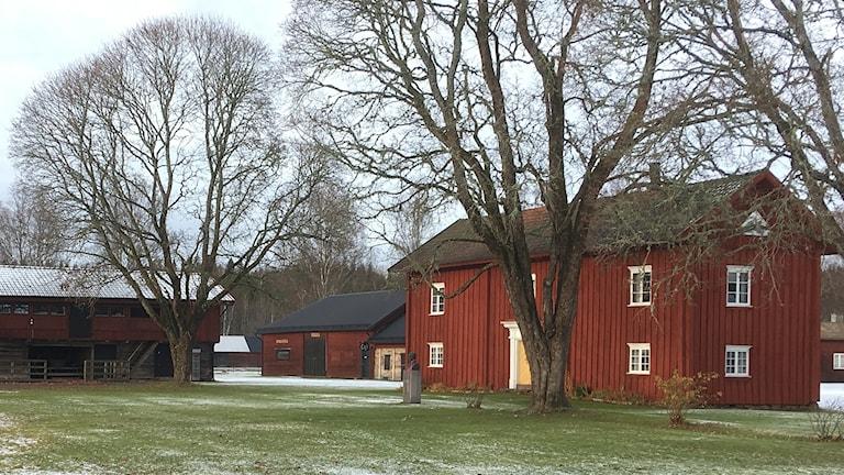 Ransäters hembygdsgård. Foto: Per Larsson/Sveriges Radio.