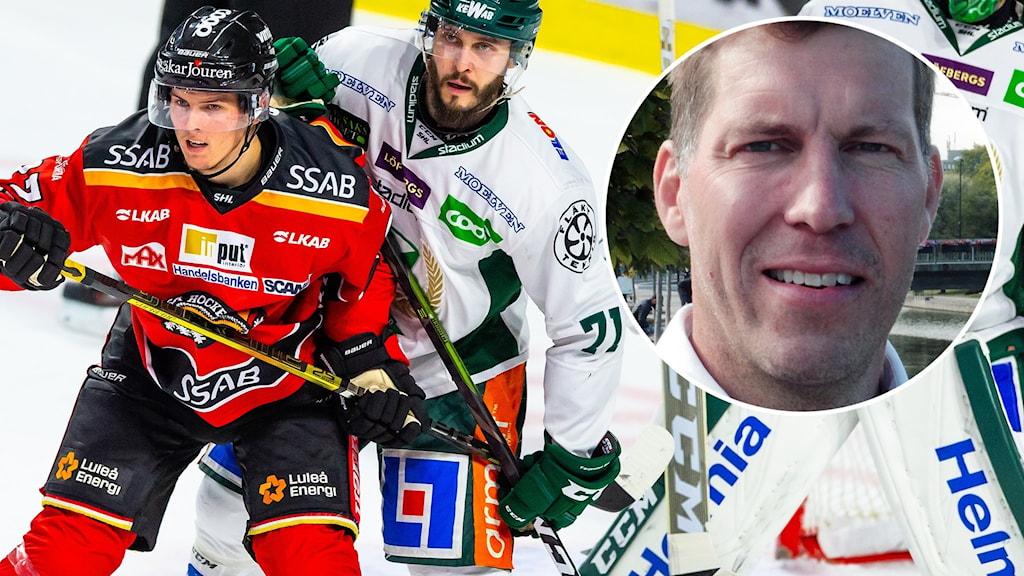 Luleå-Färjestad möts i SM-final, tror Per Svartvadet.