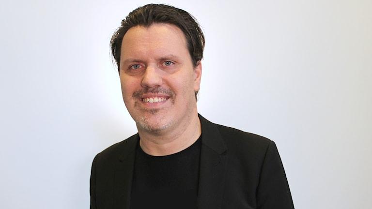 Henrik Pallin, socionom och kurator. Foto: Lars-Gunnar Olsson/Sveriges Radio.