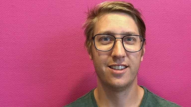 Johan Hjälmerhag vd för Sotning och Ventilation. Foto: Tomas Hedman/Sveriges Radio