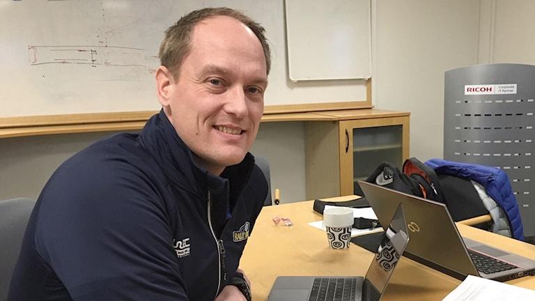 Glenn Olsson. Foto: Jenny Tibblin/Sveriges Radio.