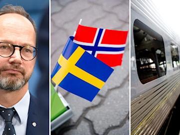 Eneroth (S) om snabbtågssatsning: Bollen ligger hos norska regeringen