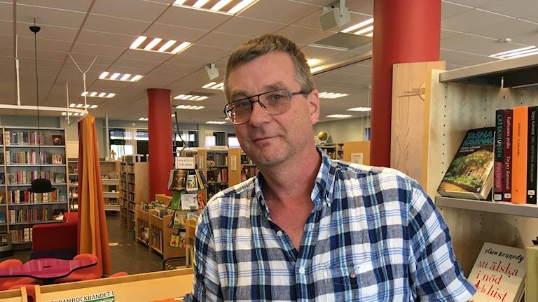 Jan Fröding, bibliotekschef i Filipstad.