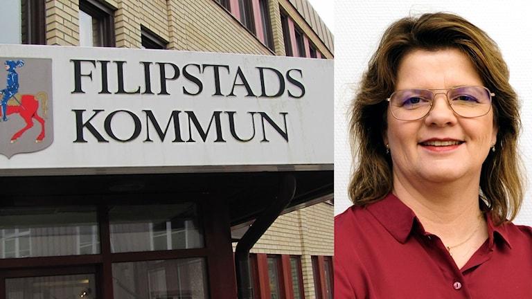 Åsa Hååkman Felth. Foto: Sveriges Radio och Filipstads kommun.