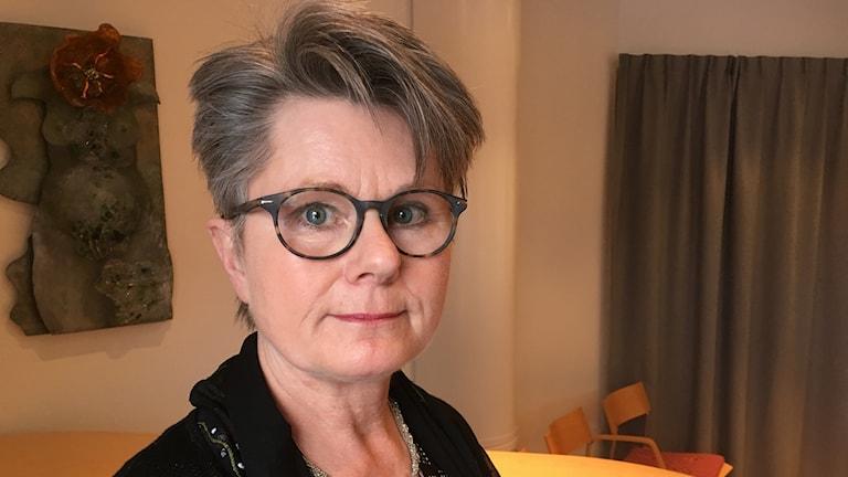 Gunilla Ingemyr, centerpartistiskt kommunalråd i Sunne.