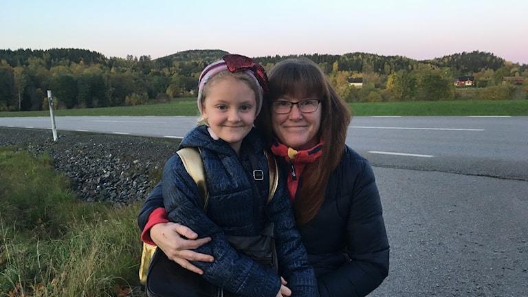 Isabelle och Annika Karlsson.