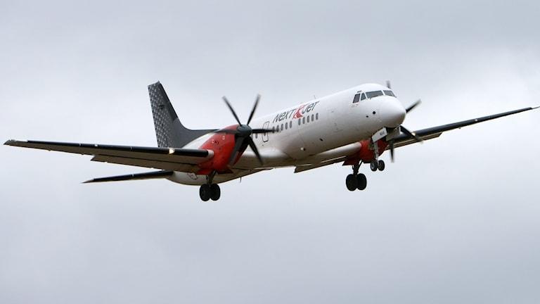 Flygplan från flygbolaget Nextjet. Foto: Johan Nilsson/TT.