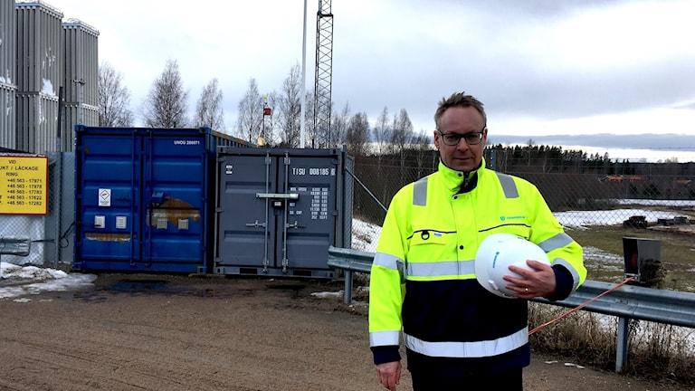 Robert Gustafsson är kommunikationschef på Uddeholm AB i Hagfors.