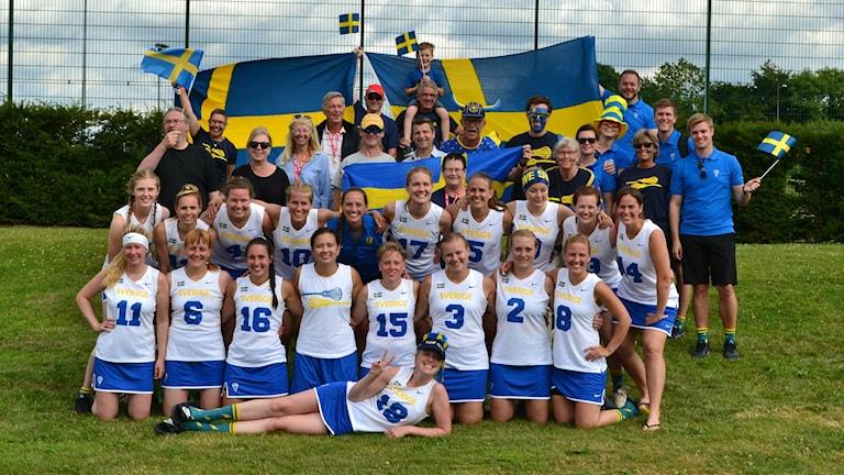 Svenska landslaget i lacrosse