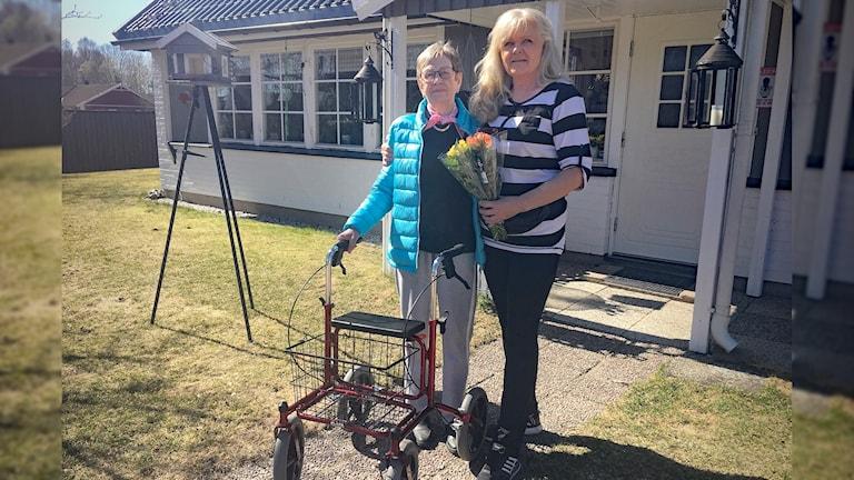 Kerstin Kristoffersson och Anette Eriksson. Foto: Joakim Nilsson/Sveriges Radio.