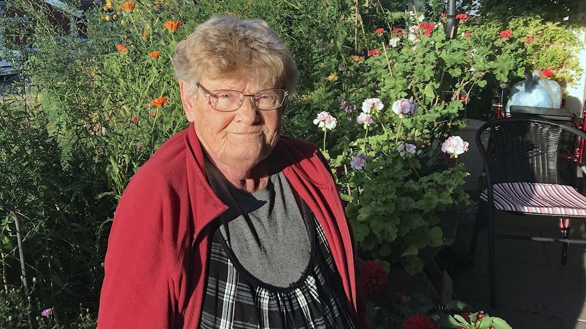 Alice Högberg Mattsson. Foto: Per Larsson/Sveriges Radio.