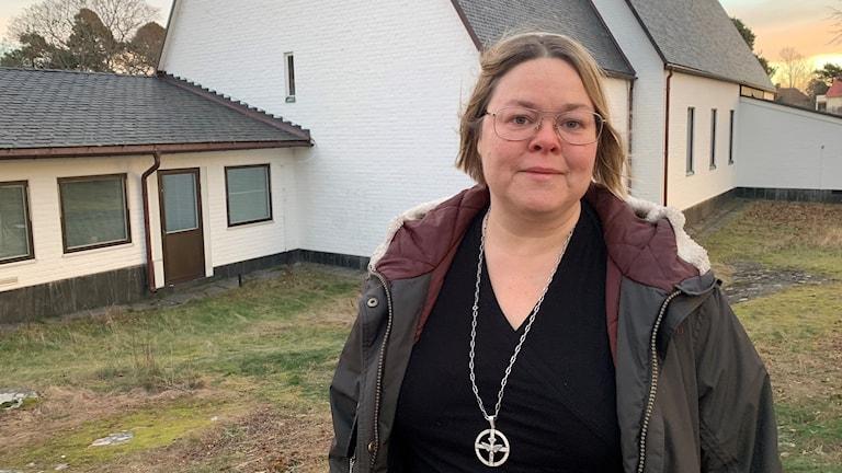 Johanna Gerdén. Foto: Gustav Jacobson/Sveriges Radio.