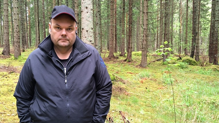 Henrik Skane. Foto: Maria Bard/Sveriges Radio.