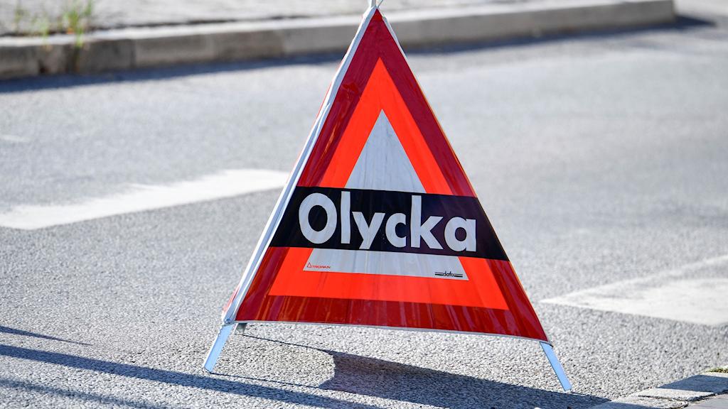 OLYCKA SKYLT. Foto: Johan Nilsson/TT.