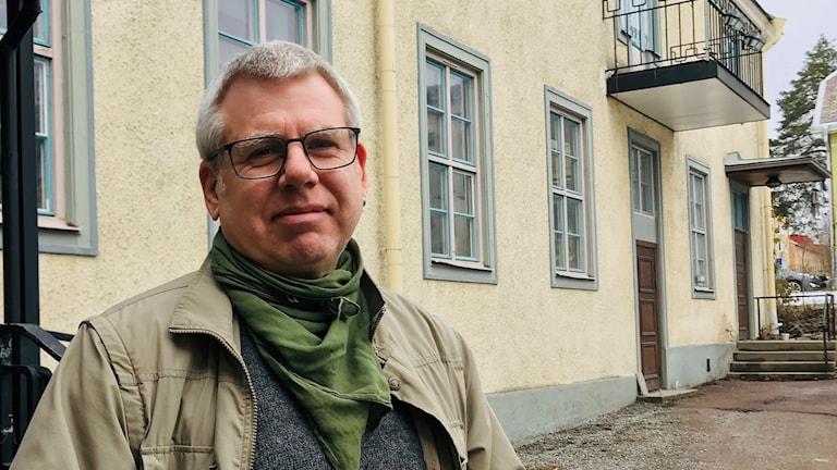 Håkan Jivesand, socialdemokratisk ordförande för öeverförmyndarnämnden i Arvika och Eda. Foto: Amanda Moln/ Sveriges radio.