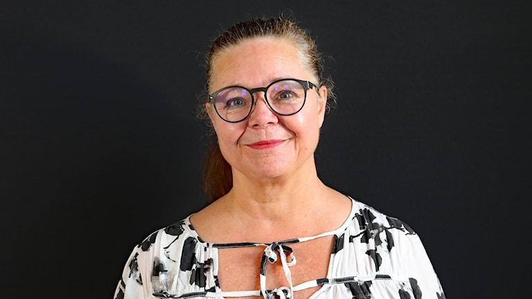 Anna Forssberg, lektor i litteraturvetenskap vid karlstads universitet. Foto Örjan Bengtzing/Sveriges Radio.