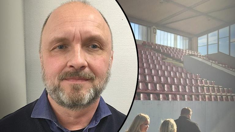 Anders Warnestad, Carlstad United. Foto: Sveriges Radio.