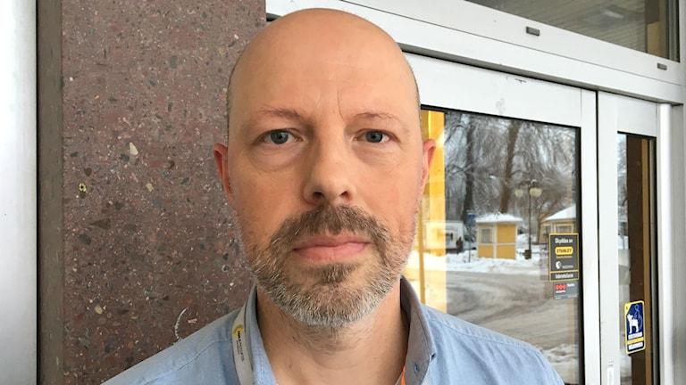 Håkan Fielding, förste socialsekreterare i Kristinehamns kommun. Foto: Magnus Hermansson/Sveriges Radio.