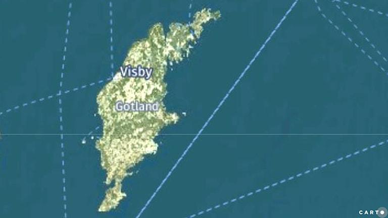 Gotlands karta