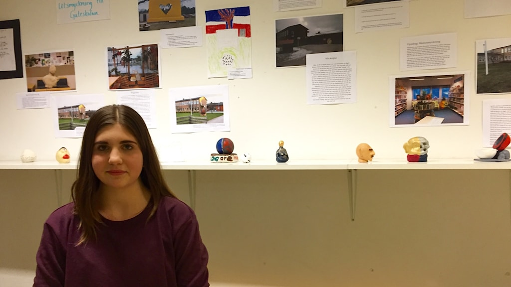 Nora Grönhagen högstadieelev på Guteskolan