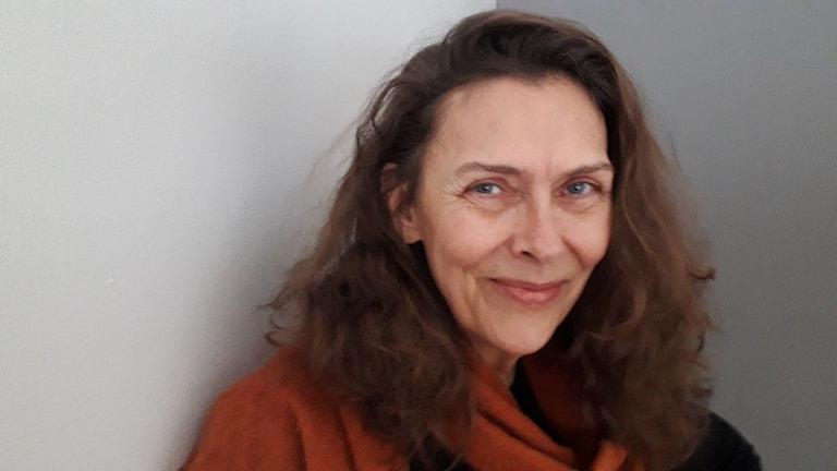 Författaren Åsa Lind skriver till Barnkörveckan på Fårö.