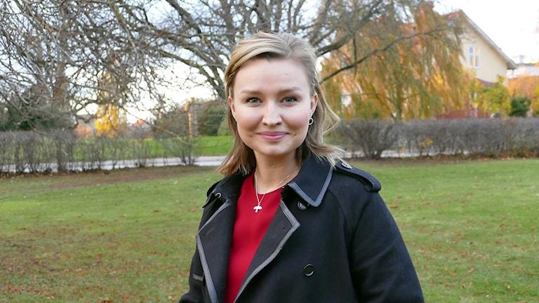 Kristdemokraternas partiledare Ebba Bush Thor.
