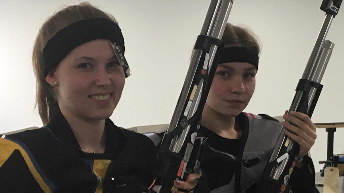 Frida Eriksson och Amanda Glansholm
