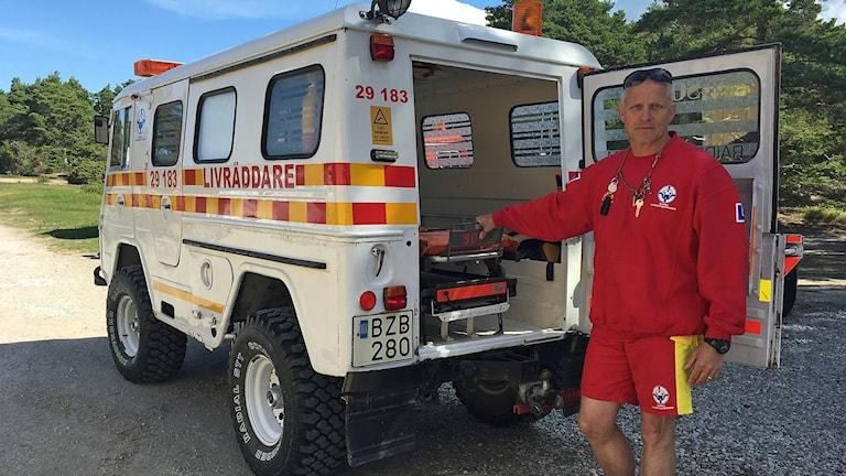 Tord Thuresson livräddare tofta livräddningsstation