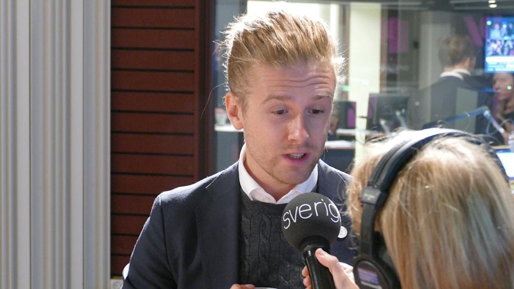 Jesper Skalberg Karlsson, M, valet 2018