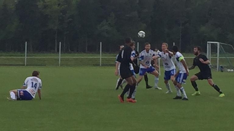 Dalhems herrar förlorade mot serieledarna IFK Haninge