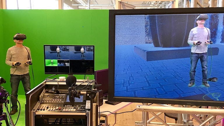 Virtual Reality prövas på Riksutställningar.