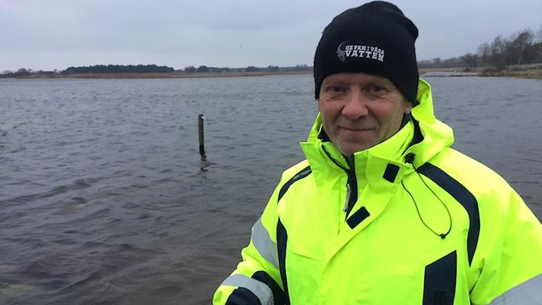 Lars Vallin, Sportfiskarna. Foto: Johan Hellström/Sveriges Radio