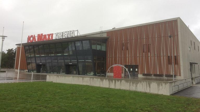 Arenahallen i Visby.